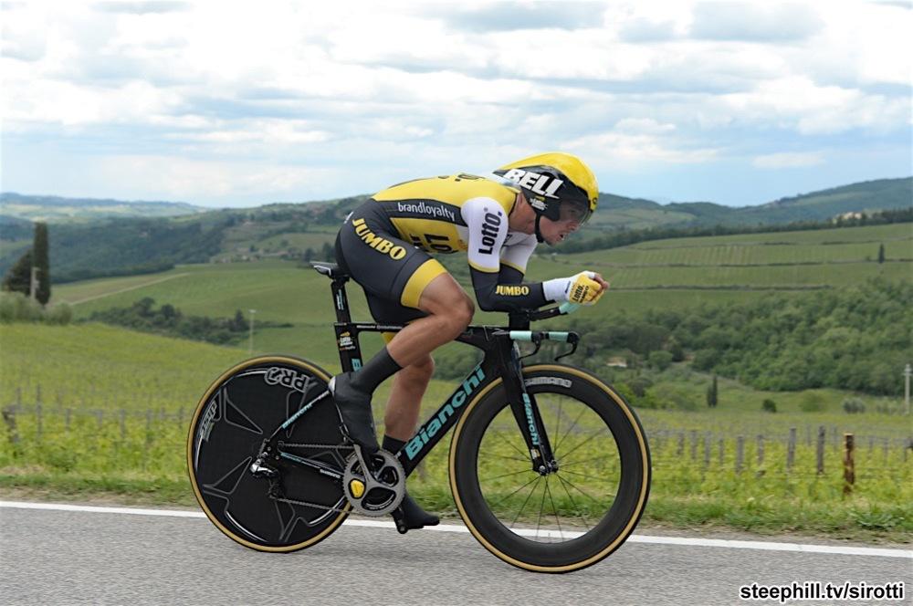 15-05-2016 Giro D'italia; Tappa 09 Radda In Chianti - Greve In Chianti; 2016, Lotto Nl - Jumbo; Roglic, Primoz; Panzano In Chianti;
