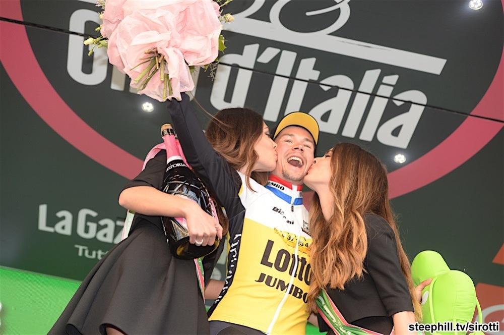 15-05-2016 Giro D'italia; Tappa 09 Radda In Chianti - Greve In Chianti; 2016, Lotto Nl - Jumbo; Roglic, Primoz; Greve In Chianti;